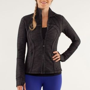 Lululemon Define Black Slub Jacket